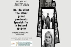 Decade of Centenaries Lecture Series; The other great pandemic: Spanish flu sumamry image