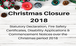 CHRISTMAS CLOSURE sumamry image