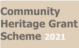 Community Heritage Grants 2021 -Now Open! sumamry image