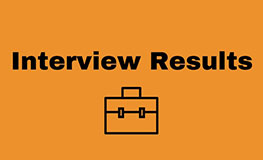 Interview Results - Sports Recreational Officer sumamry image