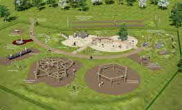 Construction of Collinstown Park Playground commencing sumamry image