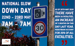 National Slow Down Day 22nd - 23rd May 2020 sumamry image