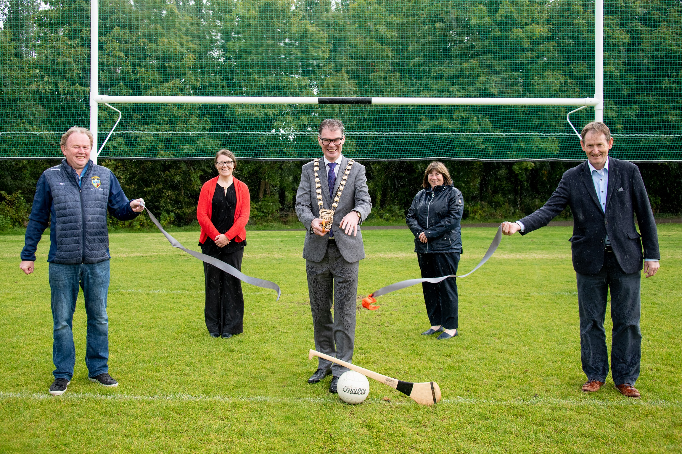 Mayor-of-SDCC-Cllr-Ed-OBrien-opening-the-new-GAA-pitch-at-Tymon-Park