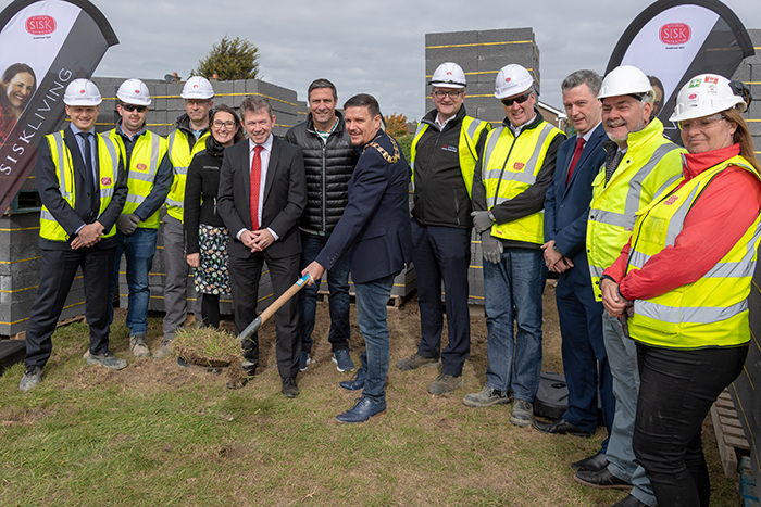 SDCC - Sod Turning at Lindisfarne Grove-004